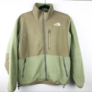 THE NORTH FACE DENALI JACKET Tan Olive Green